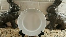 "Fitz & Floyd White Classic 7 3/4"" Salad Plate"