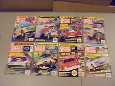 LOT OF 8 1992 SUPER STOCK & DRAG ILLUSTRATED MAGAZINES,NHRA,DRAG RACING ACTION