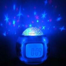 Star Sky Digital Projection Alarm Clock Temperature Backlight Music Projector