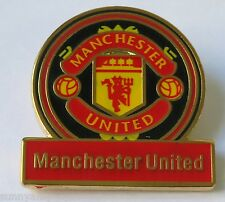 Official Manchester United - Crest Emblem Pin / Badge (NEW in Packaging)