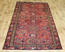 PERSIAN TRADITIONAL ANTIQUE Wool  3.4 X 6.4 FT ORIENTAL RUG HANDMADE CARPET RUGS