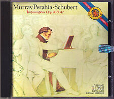 Murray PERAHIA: SCHUBERT 8 Impromptus D.899 & 935 CBS CD Impromptu Op.90 & 142