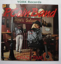 P COIN BAND - Crazy Time - Excellent Condition LP Record Coin CRLP 0314