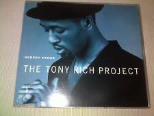 THE TONY RICH PROJECT - NOBODY KNOWS - UK CD SINGLE