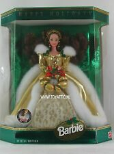 Barbie doll brunette Happy Holiday 1994 Teddy Bear convention super rare NRFB