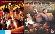 Never Back Down 1+2 (Sean Faris Martial Arts) New DVD Region 4