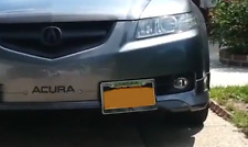 Front Bumper Tow Hook License Plate Mounting Bracket For ACURA TL 2004 - 2008