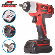 "HAWK TOOLS 3/8"" 14.4V LITHIUM LI-ION CORDLESS IMPACT WRENCH GARAGE RATCHET GUN"