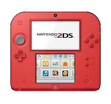 2DS Hardware Crimson Red 2 w/Mario Kart 7 (Nintendo 3DS)
