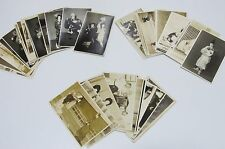 37 Original Photo card postcard set Japan kabuki actor kimono samurai old No.14