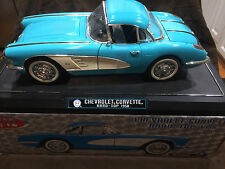 1958 Chevrolet Corvette  Hard - Top 1/12th Scale Model - By Solido - Vintage