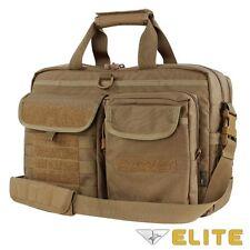Condor 111072 BROWN Tactical Elite Metropolis Briefcase Travel Shoulder Bag