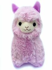 CLEARANCE SALE - LARGE 37cm Tall Kawaii Alpaca Llama Plush Pastel Lilac Cute