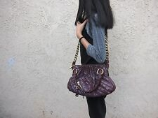 Marc Jacobs Purple Quilted Leather Cecilia Bag