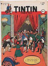 TINTIN n°128. 5 AVRIL 1951. Bel état