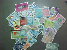 43 DIFFERENT TRINIDAD & TOBAGO IN COMPLETE SETS ONLY /  STAMP COLLECTION - LOT