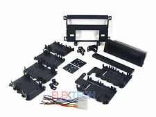 Dodge Mitsubishi Radio Dash Mounting Kit Install Single Din w/Pocket & Harness
