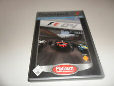 PlayStation 2  PS 2  F1 - Formel Eins 2004 [Platinum]