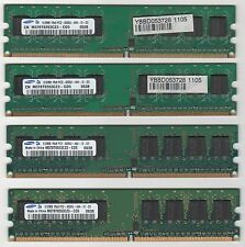 Kit Dual Channel SAMSUNG Ram DDR2 2GB (4x512MB) PC4200 533MHz M378T6553CZ3-CD5