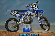 Yamaha Graphics Kit Decals YZ250 YZ 250 Yamalube Factory Look All Years 90-ON