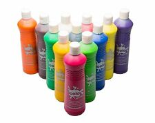 Painting Colours for Kids Children Mix Coloured Paint 12 x 600ml