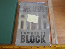 The Specialists Lawrence Block signed LE 179/200 book slipcase edition SCARCE