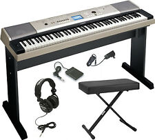 Yamaha YPG-535 88-Key Piano with Bench and Headphones