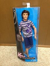 Barbie Fashionistas Ryan Brunette Ken Doll Articulated Jointed Clutch Wave Rare