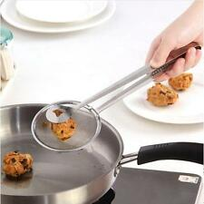 Kitchen Multi Function Strainers Clamp Stainless Steel Food Clip Sifter Colander