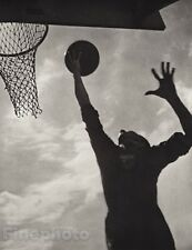 1936 Original Print OLYMPIC BASKETBALL Sports Germany Photo By LENI RIEFENSTAHL