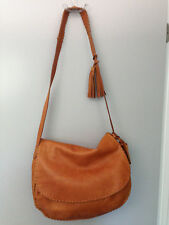Ralph Lauren Brown Leather Shoulder Bag