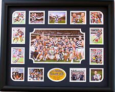 New Geelong Cats Premiers Limited Edition Memorabilia Framed