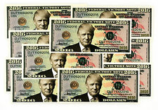 10 Donald Trump USA fantasy paper money 2016 federal victory