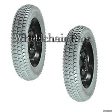 "14""x3"" (3.00-8) Foam-Filled Drive Wheels for Invacare Power Chairs # 1090650 NEW"