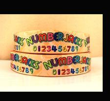 Numberjacks Ribbon 1m long 1' wide Numbers