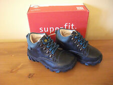 Boys SUPERFIT GORETEX Navy LEATHER Lace BOOT UK 5 Eur 22 NEW!