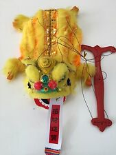 CHINESE NEW YEAR PUPPET LION DRAGON HEAD DANCE HANGING USA SELLER