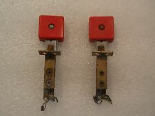 DEMOLITION MAN 94 PINBALL MACHINE PLAYFIELD LOT OF 2 RED SQUARE TARGET SWITCHES!