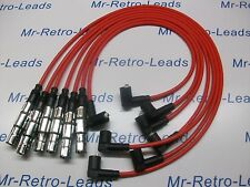 RED 7MM HIGH PERFORMANCE IGNITION LEADS HT WILL FIT VW GOLF CORRADO VR6 PASSAT