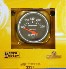 Auto Meter 3337 Sport Comp Electric Water Temperature Gauge Temp 100 - 250 Deg
