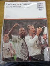 07/09/2002 England v Portugal [At Aston Villa] . (Any noticable faults with this
