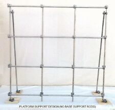 "ROTOCON LAB FRAME, NFZ33, 1/2"" SOLID WHITE FIBERGLASS RODS"