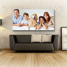 """Personalised PANORAMIC Photo Canvas Prints 40x20"""" (101x50cm) RRP £84.95 SAVE 78%"""