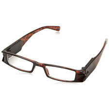+3 Eschenbach LightSpecs LED Lighted Reading Glasses Tortoise, Specs, Peepers
