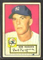 1952 Topps #85 Bob Kuzava NEW YORK YANKEES ~ VG/EX