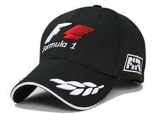 f1 baseball cap hat black men car Formula 1 race team hat sport black golf hat