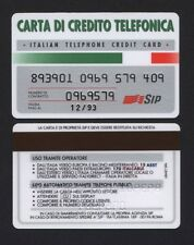 SIP CARTA DI CREDITO TELEFONICA SCADENZA 12/93 COD.029
