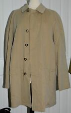 BURBERRY London Newholm Men Beige light brown trench rain coat sz 54