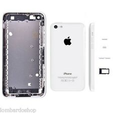 BACK COVER SCOCCA MIDDLE FRAME TELAIO POSTERIORE  PER APPLE IPHONE 5C BIANCO