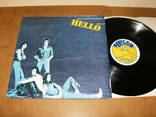 HELLO : KEEPS US OFF THE STREETS - UK LP 1976 - BELL 263 - pop rock, glam
